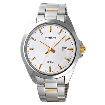 SEIKO 啟動萬象時尚日期腕錶(SUR211P1)-42mm