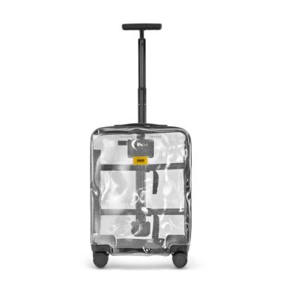【Crash Baggage】Share拉鍊款20吋透明防撞行李箱