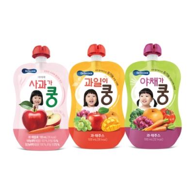 韓國 【BEBECOOK】 嬰幼兒果汁10入組