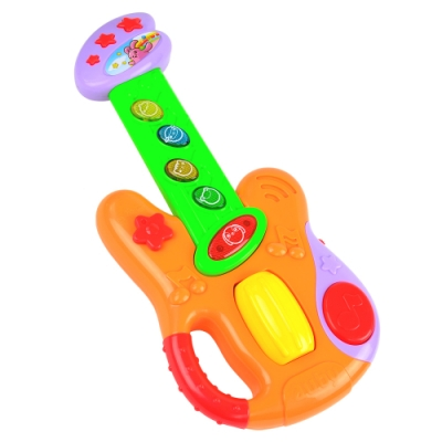 《Electric Guitar》搖滾聲光音樂ROCKER吉他造型玩具
