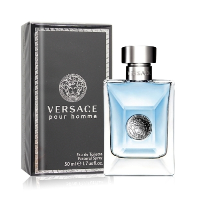 Versace Pour Homme 經典男性淡香水50ml EDT-國際航空版