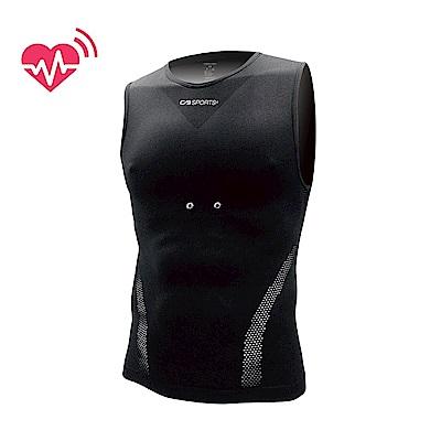 【CABALLERO】男款心跳感測壓縮背心