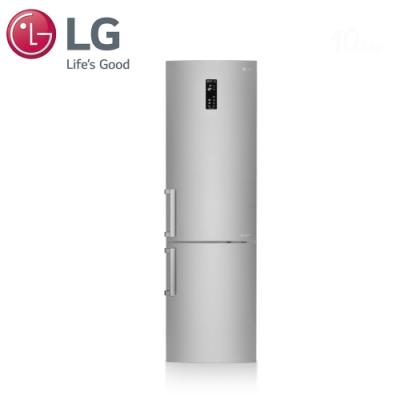 LG 樂金 350L直驅變頻雙門冰箱 精緻銀 GW-BF386SV