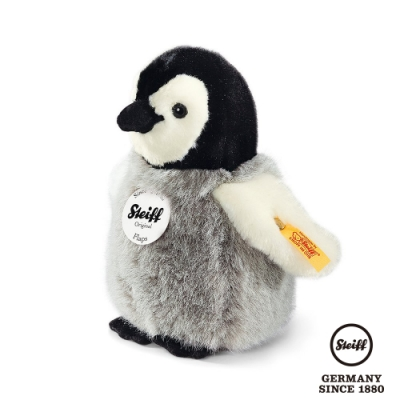 STEIFF德國金耳釦泰迪熊  企鵝寶寶 Flaps Penguin (動物王國) 16cm