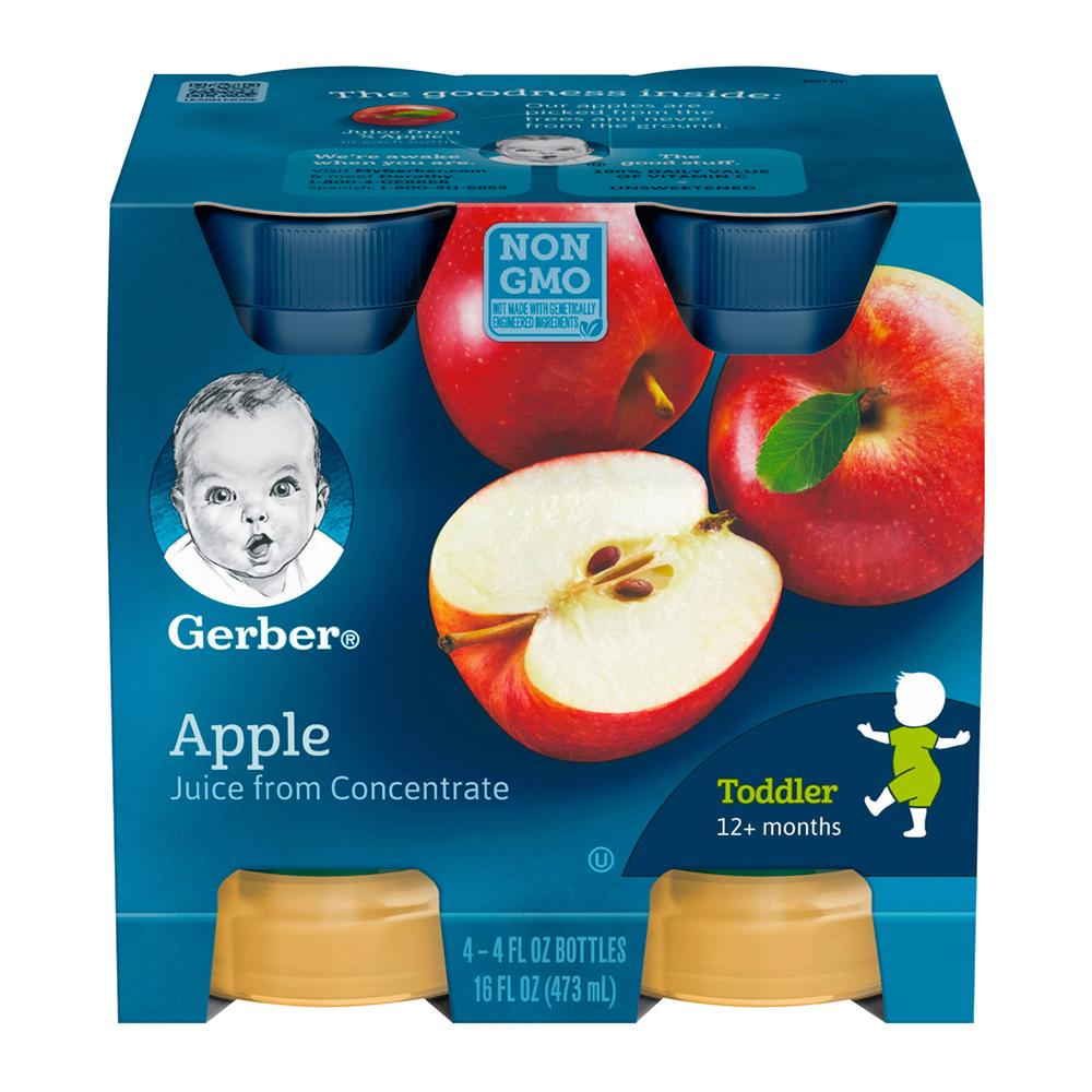 嘉寶 蘋果汁(118mlx4入)