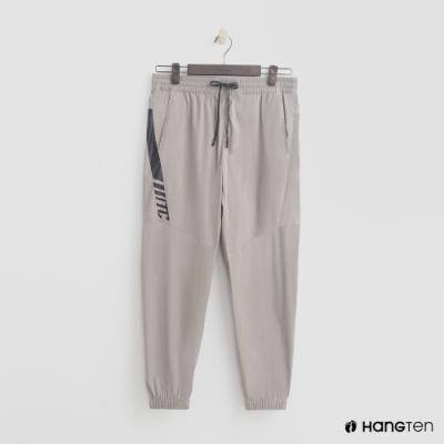 Hang Ten - 男裝 - ThermoContro-鬆緊運動束口褲 - 米