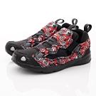 Reebok頂級童鞋 印花洞洞運動鞋款 NI301紅黑(中小童段)