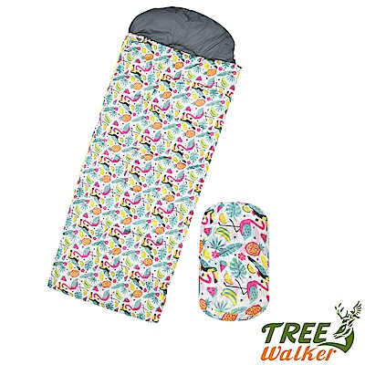Tree Walker 夢想森林兒童捲筒睡袋 紅鶴森林