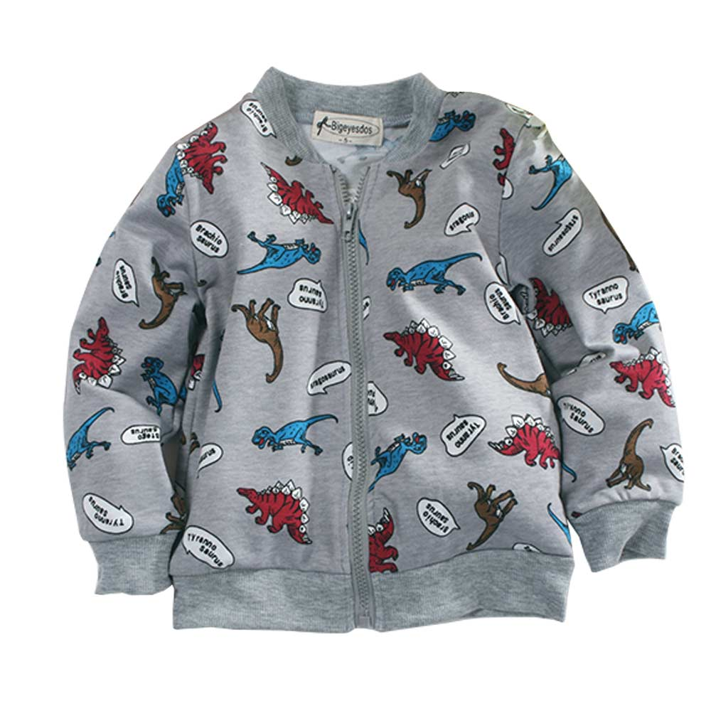 恐龍印花外套 k60687 魔法Baby