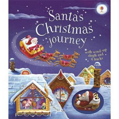 Santa s Christmas Journey 車車書:聖誕老公公的聖誕節