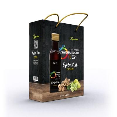 【自然思維】Ogarden 100%初榨冷壓印加果油 2入禮盒