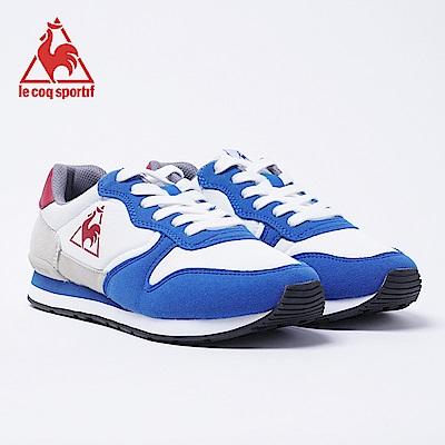 le coq sportif 法國公雞牌Bolbec運動鞋 男女-中藍*白