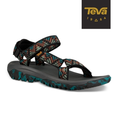 TEVA 女 Hurricane XLT2 機能運動涼鞋 美國大峽谷款-湖水藍