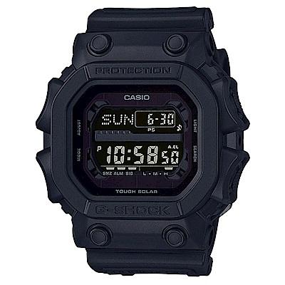 G-SHOCK潮流專屬黑色控日線全黑系列休閒運動錶(GX- 56 BB- 1 )/ 53 . 6 mm