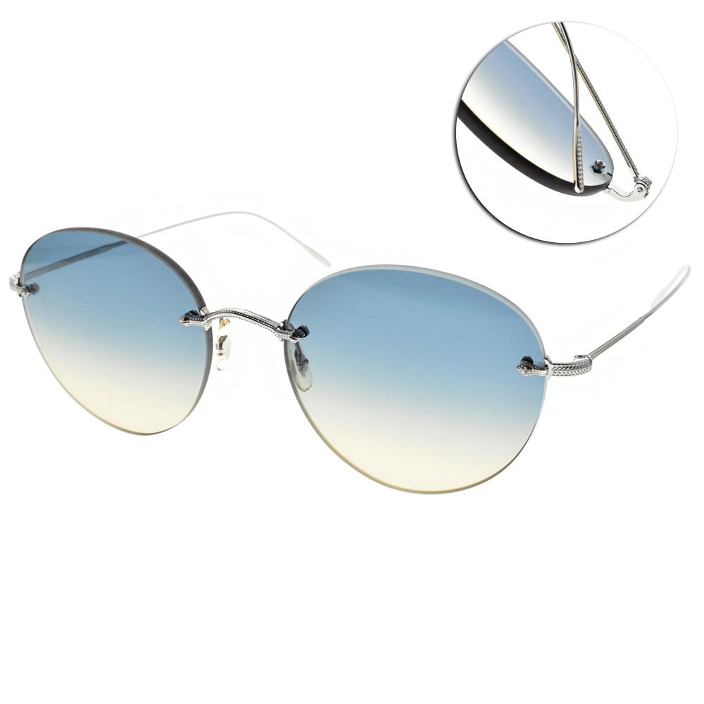 OLIVER PEOPLES太陽眼鏡 復古經典/銀 #COLIENA 503679