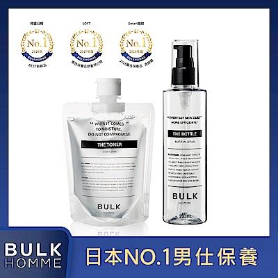 BULK HOMME 本客  THE FACE TONER化妝水200ml+化妝水專用瓶