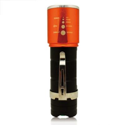 【BWW嚴選】米里 LD-126A 炫光伸縮手電筒