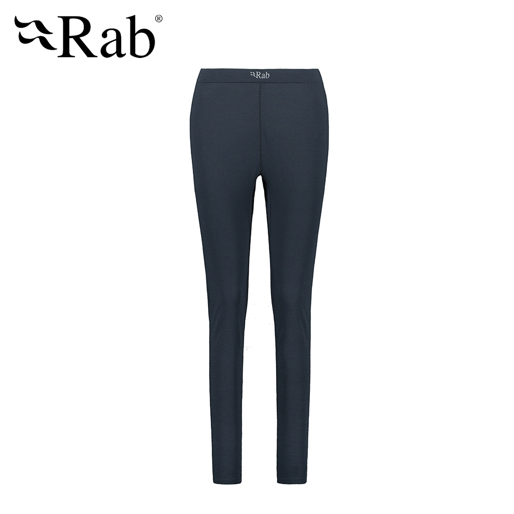 【RAB】Forge Legging Wmns 羊毛排汗內搭褲 女款 鯨魚灰 #QBU90