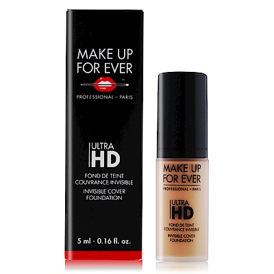 MAKE UP FOR EVER ULTRA HD超進化無瑕粉底液5ml#Y245