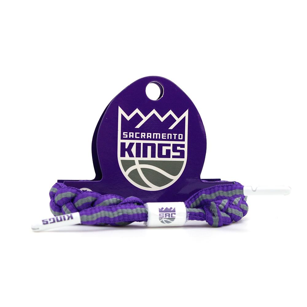 RASTACLAT NBA經典鞋帶手環 國王隊