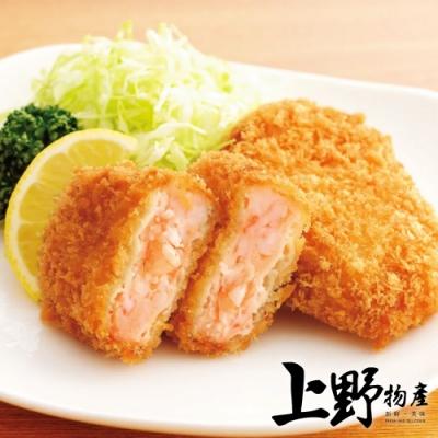 【上野物產】日式酥脆大蝦仁排(400g±10%/5片/包)x4包