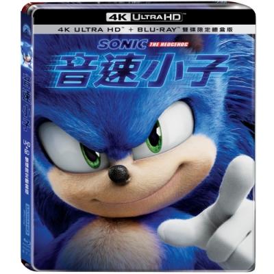 音速小子 4K UHD+BD 雙碟限定鐵盒版