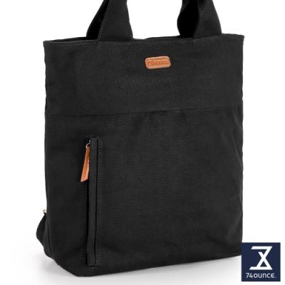 74盎司 Canvas帆布後背包[LG-910-CA-W]黑