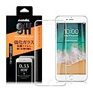 NISDA iPhone 7 / iPhone 8 /6s 完美滿版鋼化玻璃保護貼 - 白