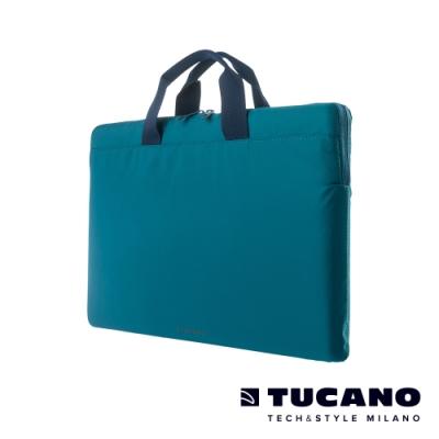 TUCANO MINILUX 極簡輕便尼龍手提內袋 13-14吋(可側背)-藍