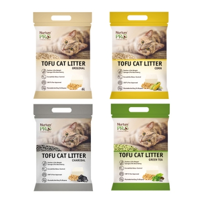 天然密碼 豆腐砂(原味/玉米/綠茶/活性碳)-6包組