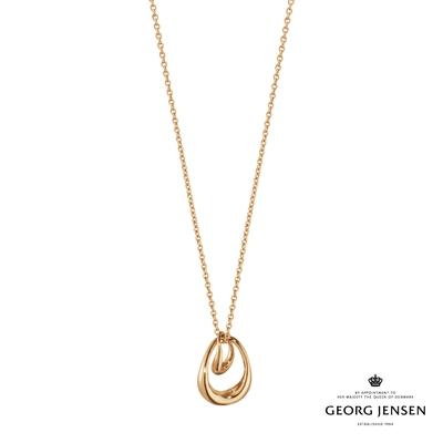 Georg Jensen 喬治傑生 OFFSPRING 18K玫瑰金項鍊