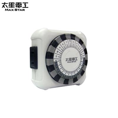 太星電工 省電家族-家用2P機械式定時器OTM406(2入)