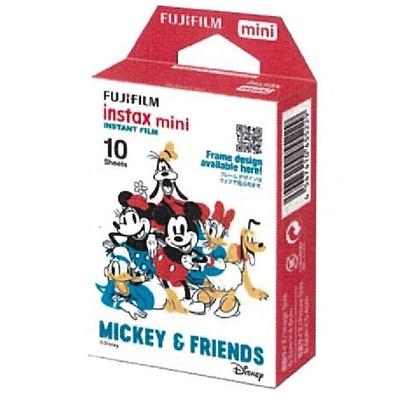 2盒裝 FUJIFILM instax mini 拍立得底片 米奇朋友 MICKEY & FRIENDS