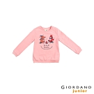 GIORDANO 童裝JOY塗鴉純棉T恤-23 石英粉紅