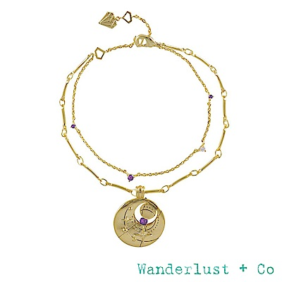 Wanderlust+Co 生日石系列 BIRTHSTONE手鍊 六月June