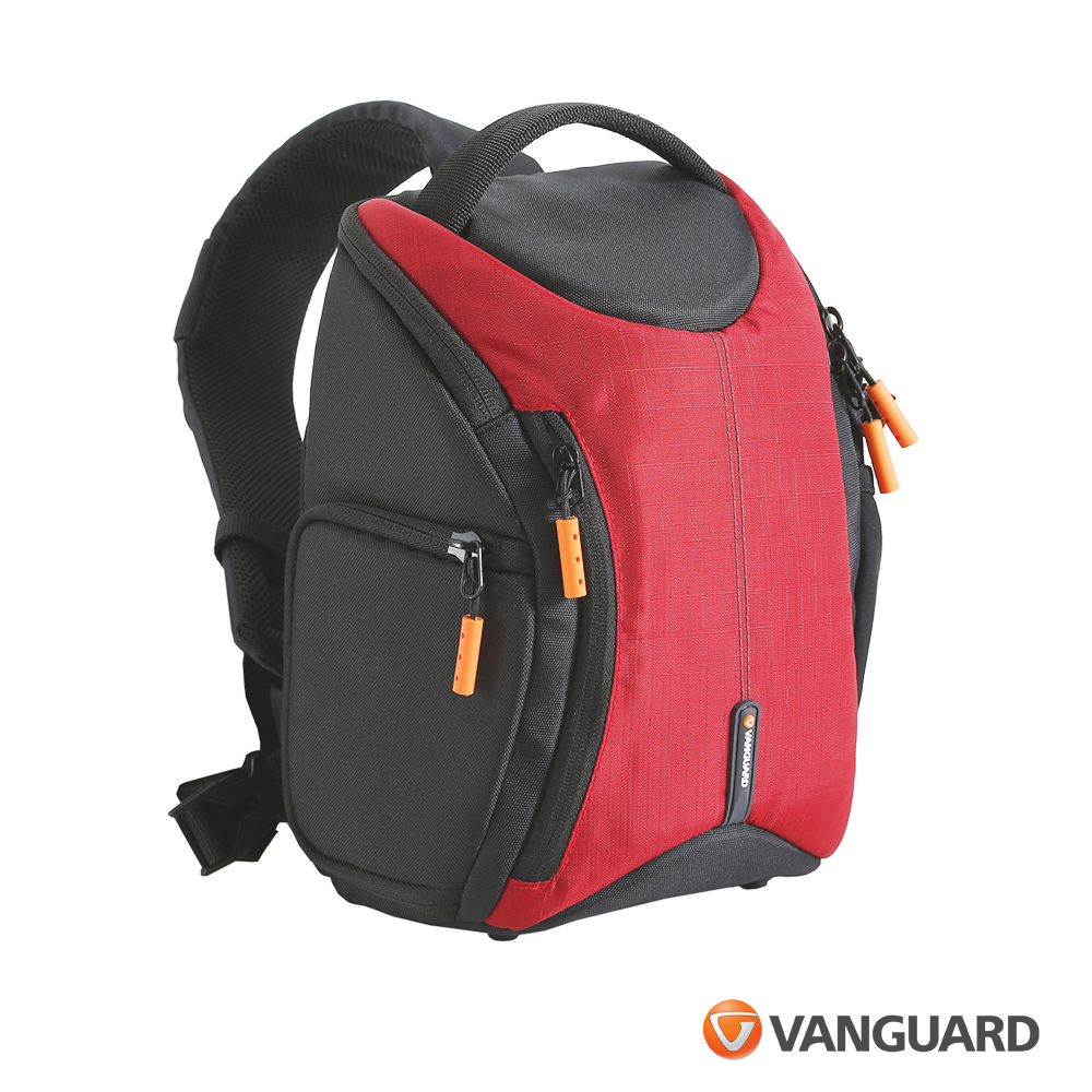 (促) VANGUARD 精嘉 Oslo 即影者 37 攝影單肩後背包 -紅色