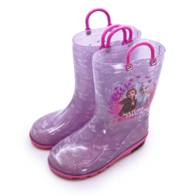 Disney 迪士尼 冰雪奇緣 FROZEN 兒童雨鞋 高筒雨靴 台灣製造 紫桃 04607