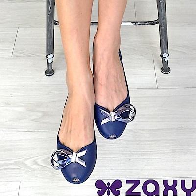 Zaxy 巴西 女 LUXURY 華麗閃耀魚口鞋 (藍)