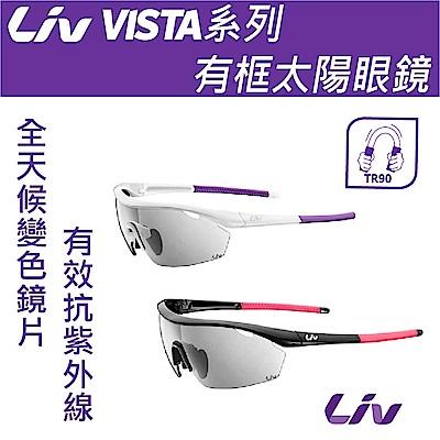 Liv VISTA款有框太陽眼鏡 NXT全天候變色鏡片