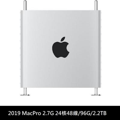 2019 Mac Pro 塔式 2.7G 24核48線 96G 256G +2TB Pcie SSD