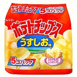 湖池屋  5P洋芋片-鹽味(140g)