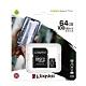 金士頓 KINGSTON SDCS2 MicroSDXC 100MB 64G U1 A1 記憶卡 product thumbnail 2