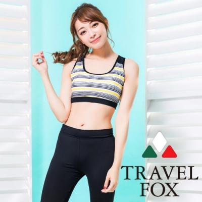 TRAVEL FOX夏之戀 大女短版二件式