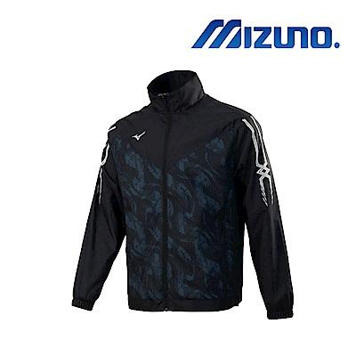 Mizuno 美津濃 男平織外套 黑 32TC858699
