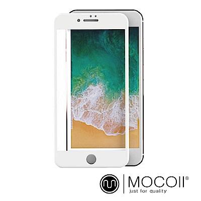 Mocoll - 2.5D 滿版 , 9H 鋼化玻璃膜 - iPhone 7 / 8