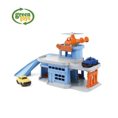 【greentoys】小車方陣-雙層修護站