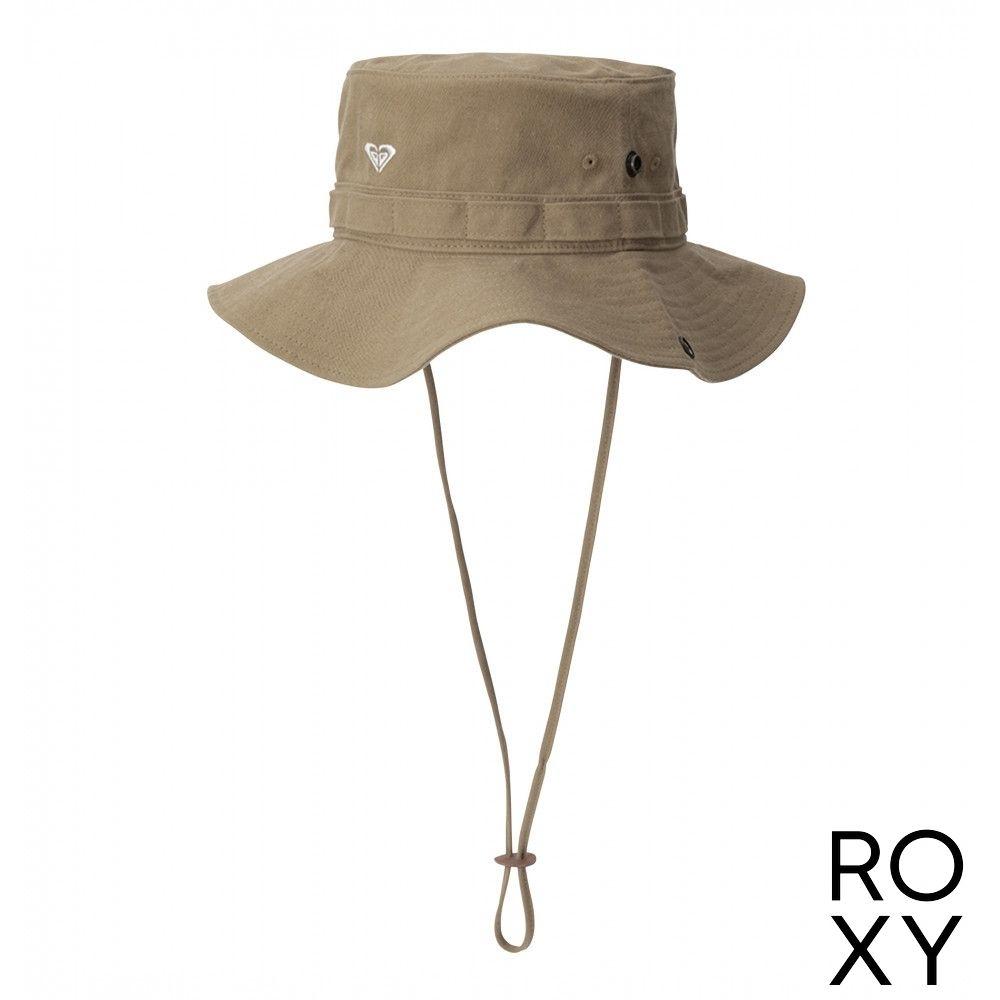 【ROXY】VOYAGER 戶外運動帽 卡其