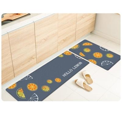 質感皮革 防油防水廚房地墊 45x150cm