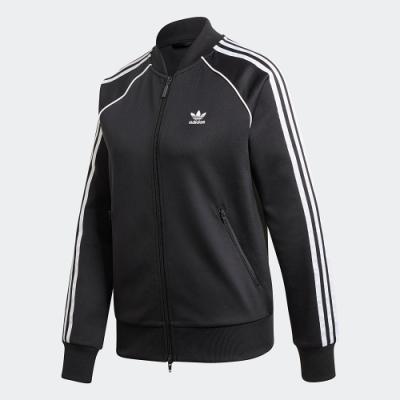 adidas 外套 運動 休閒 訓練 女款 黑 GD2374 PRIMEBLUE SST TRACK JACKET