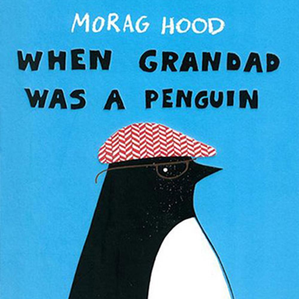 When Grandad Was A Penguin 爺爺是企鵝精裝繪本